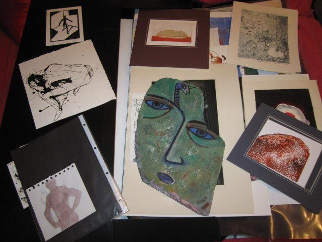 Verschiedene Künstler in meiner Mappe - z.B. Tina Krauß, Michael Goller, Sabine Grosse, Martin Gietz