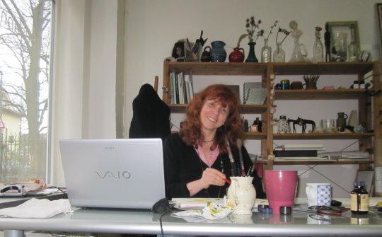 Ich gehe nirgendwo ohne meinen Rechner hin - Susanne Haun