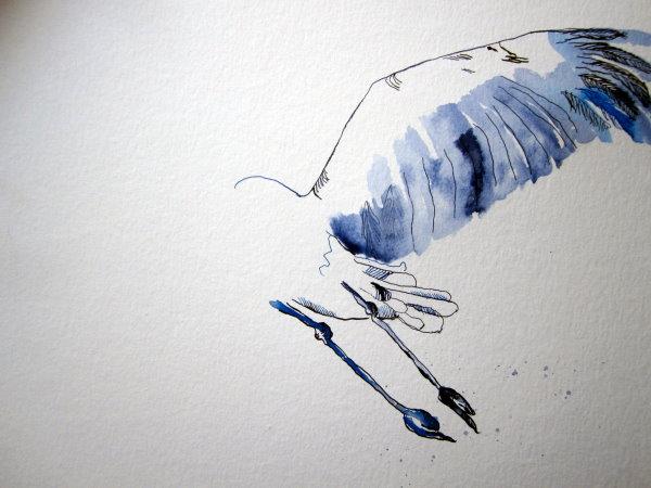 Flügel sind schwer zu zeichnen - Susanne Haun