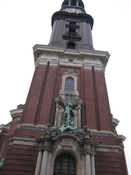Der Turm vom Michel - Foto von Susanne Haun