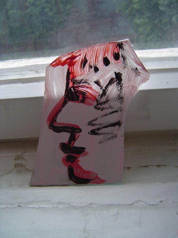 Scherbengesicht 3 von Susanne Haun