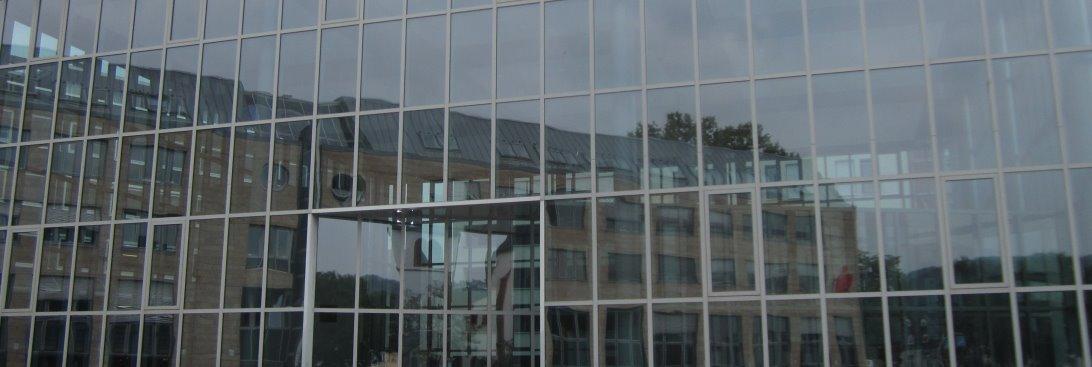 Fassade Gebäude Ausgrabungen Thermen - Foto von Susanne Haun