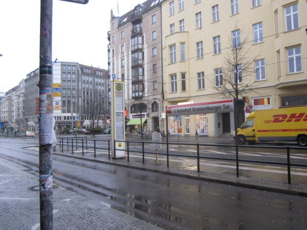 U-Bahnhof Oranienburger Straße - Berlin Friedrichstraße - Foto von Susanne Haun