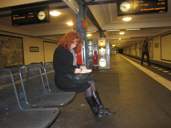 U-Bahnhof Oranienburg Str. - Susanne Haun