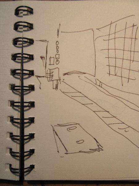 1 Minuten Skizze von Susanne Haun