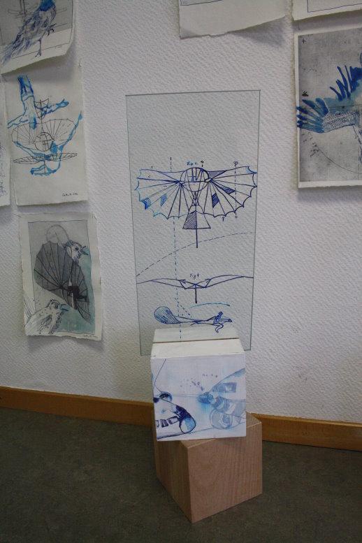 Gleiter (c) Glas Objekt von Susanne Haun