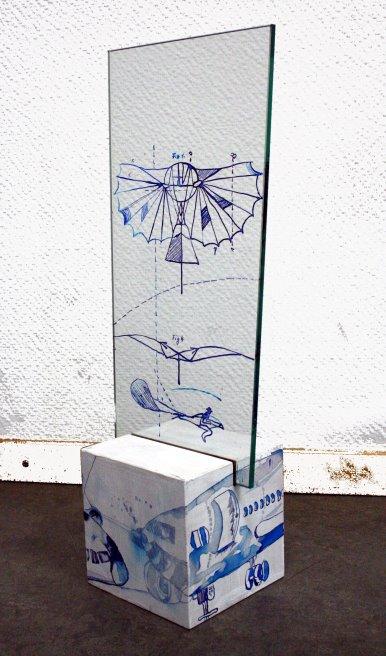Der Traum vom Fliegen, Objekt 2 (c) von Susanne Haun