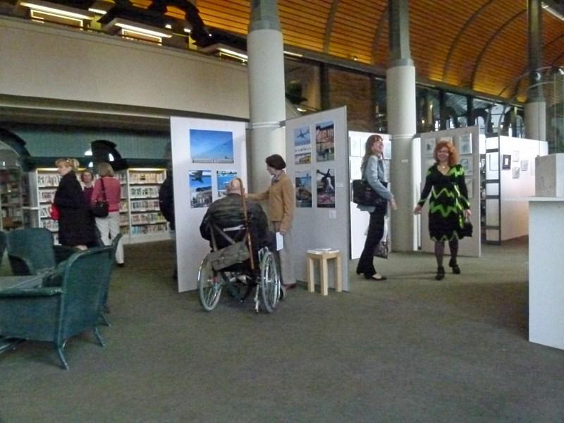 Vernissage Flughafen Tegel (c) Fotos von Frank Koebsch