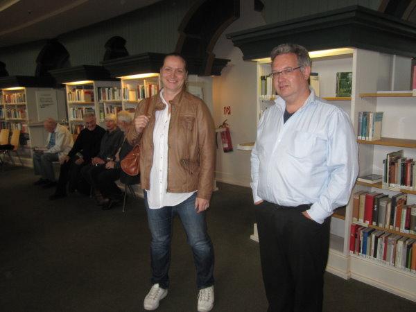 Cordula Kerlikowski und Dirk Brose auf der Vernissage (c)Fotos von Susanne Haun