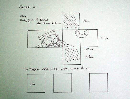 Entwurf Pluto (c) von Susanne Haun