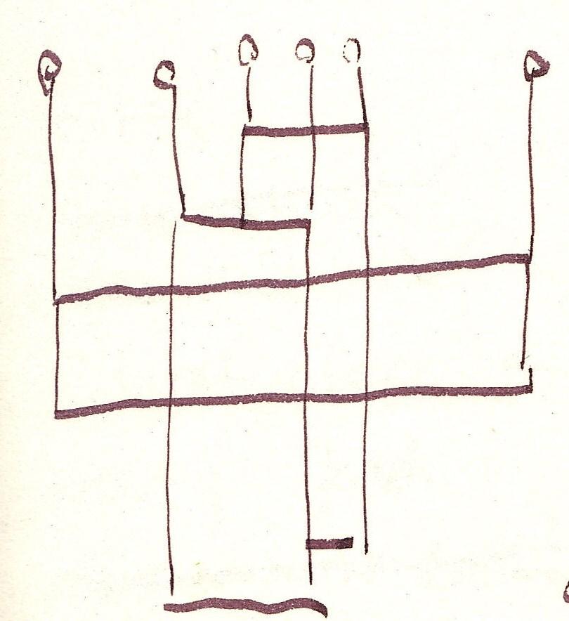 Im Raum (c) Zeichnung von Susanne Haun