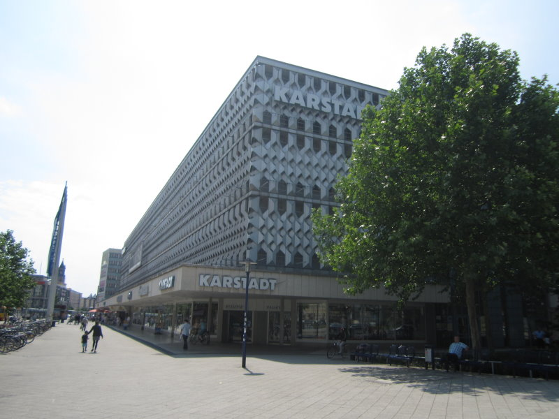 Karstadt in Magdeburg (c) Foto von Susanne Haun