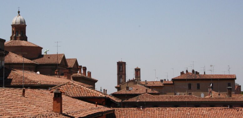 Blick auf Bologne vom Museo Morandi (c) Susanne Haun