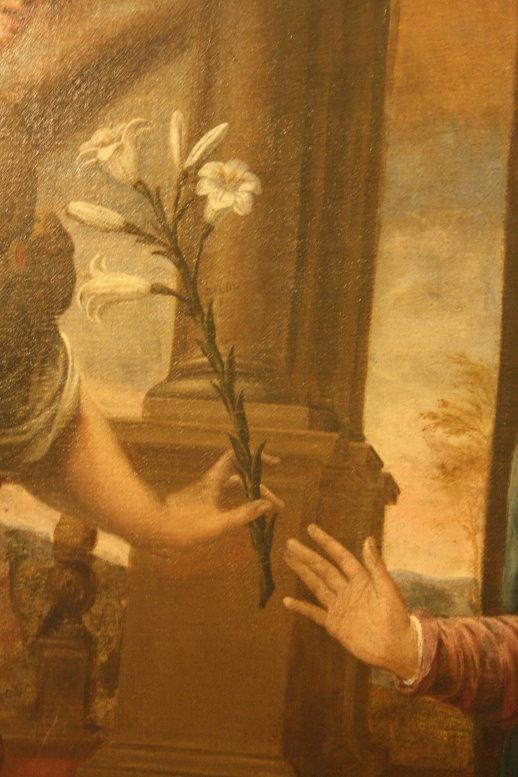 Detail L'annunciazione 1600 (c) Foto von Susanne Haun