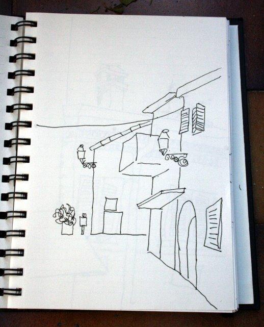 Cesenatico (c) Skizzen von Susanne Haun