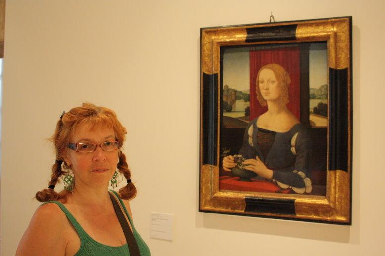 Ich und Dama dei gelsomini - Pinacoteca Musei San Domenico Forli (c) Foto von H.Haun