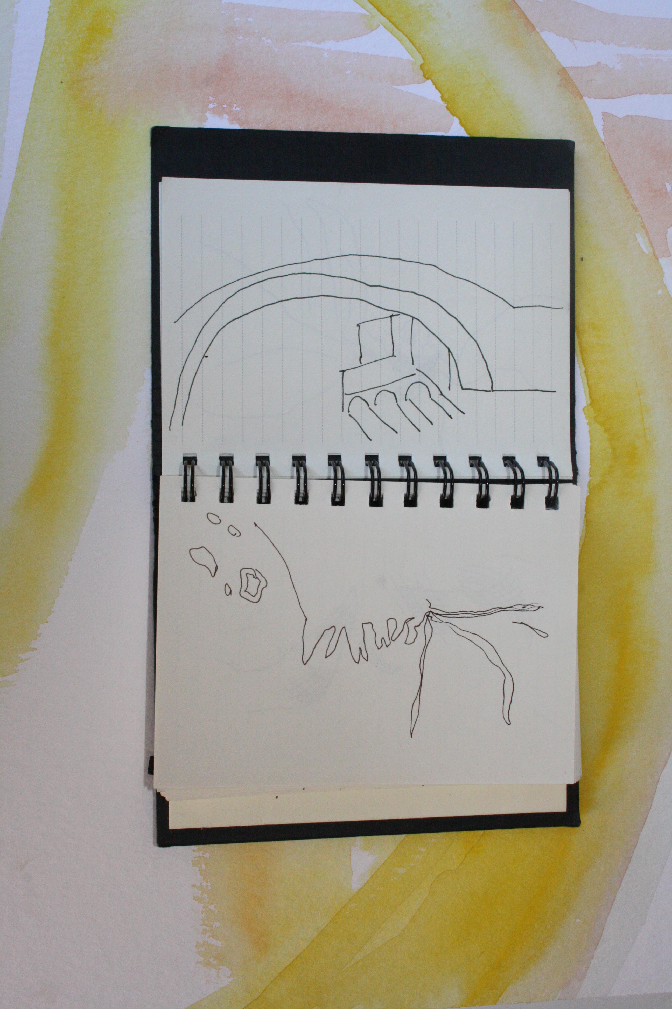 Die Zeichnung ist mir doch am liebsten (c) Susanne Haun
