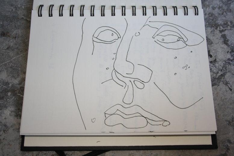 Deidelus Version 11 (c) Zeichnung von Susanne Haun