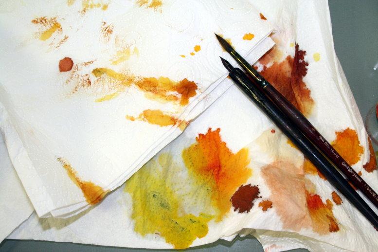 Ich bleibe in meinem gewählten Farbkreis (c) Foto von Susanne Haun