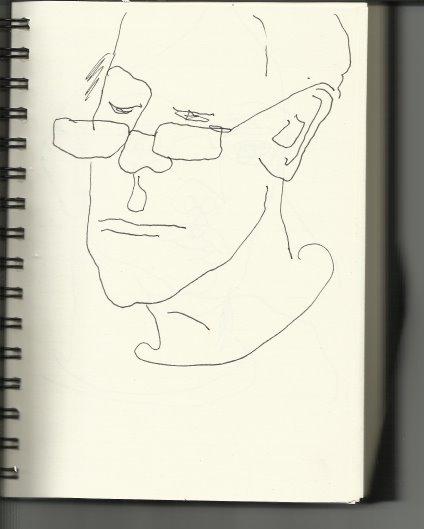 Aus meinem Skizzenbuch - Beim bbk (c) Susanne Haun
