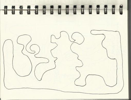 Ultimos Rennstrecke des Lebens Version 1(c) Zeichnung von Susanne Haun (2)