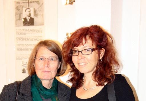 Christiane war auch zur Eröffnung (c) Susanne Haun