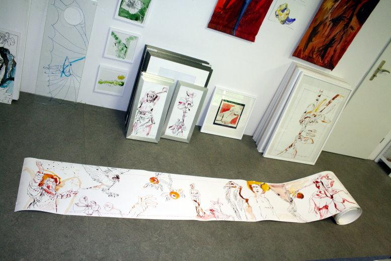 Die ersten Meter (c) Susanne Haun