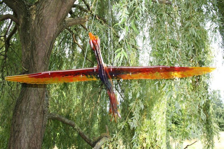Phoenix aus der Asche von Deborah Wulff, Kronau (c) Foto von Susanne Haun