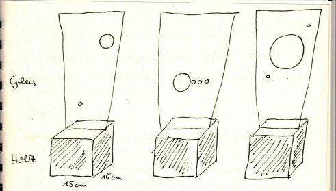 Skizze zur Konstellation (c) von Susanne Haun