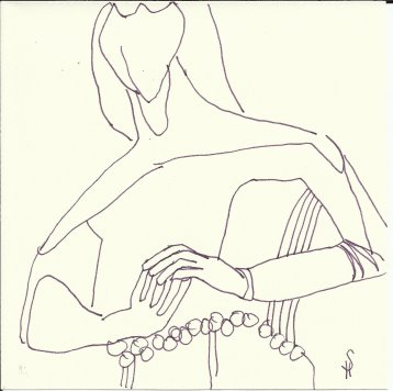 Magdeburger Figuren (c) Zeichnungen von Susanne Haun