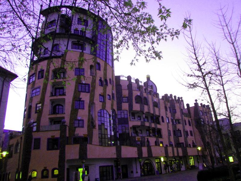 Das Hundertwasserhaus am 17.11.2012 (c) Foto von Susanne Haun