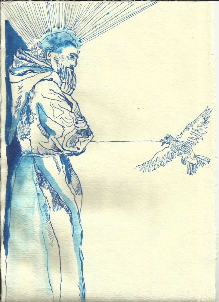 Titelrahmen Version 1 Zustand 2 (c) Zeichnung von Susanne Haun