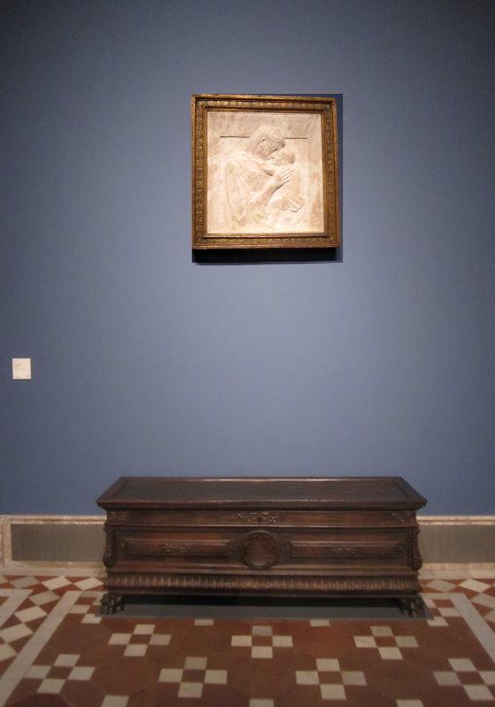 Pazzi Madonna im Bodemuseum (c) Foto von Susanne Haun