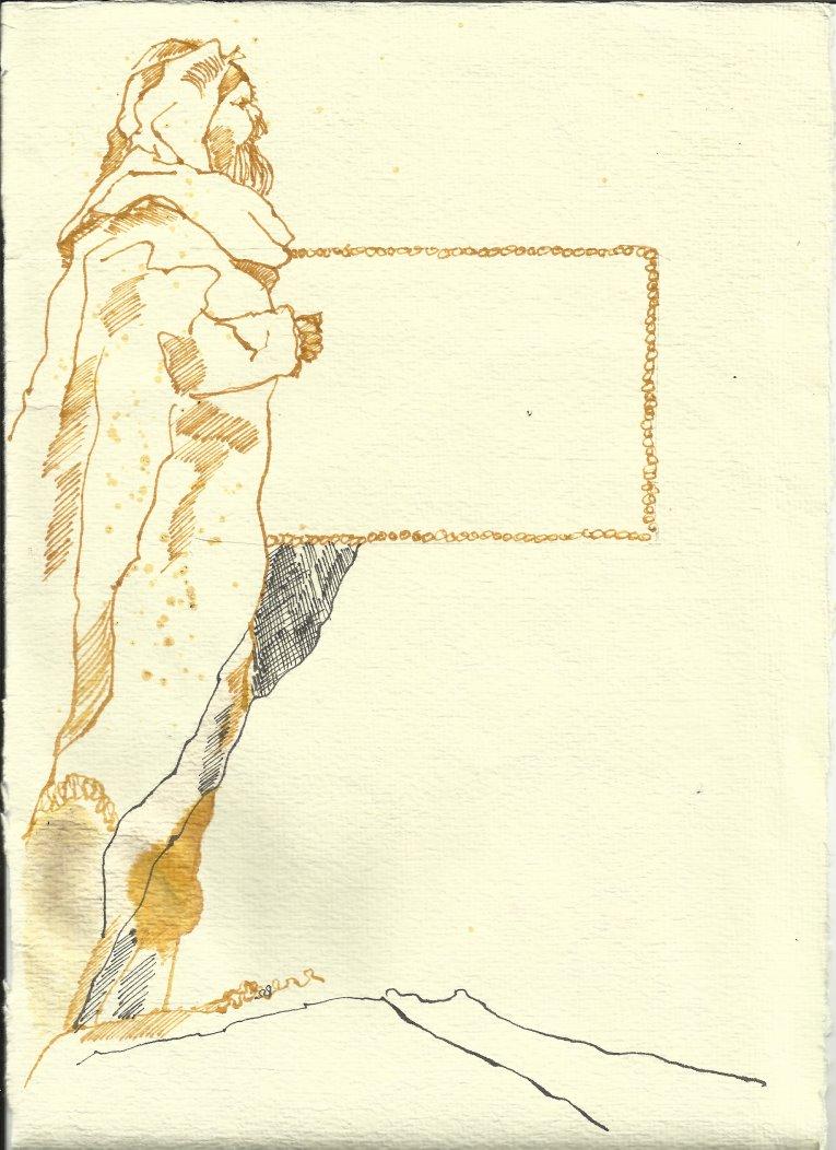 Titelrahmen Version 2 Zustand 1 (c) Zeichnung von Susanne Haun