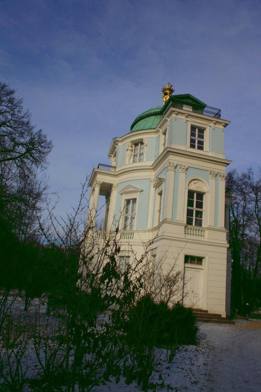 Seitliches Belvedere (c) Foto von Susanne Haun