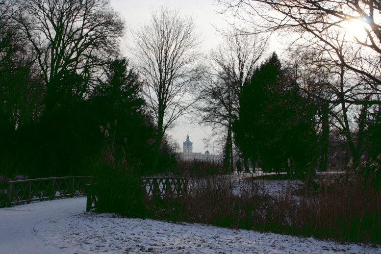 Der erste Blick zum Schloss (c) Foto von Susanne Haun