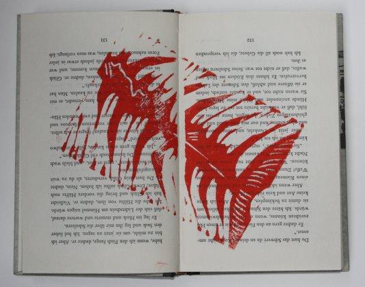 Fischgräte (c) Künstlerunikatbuch von Susanne Haun