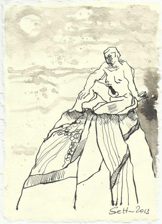 Blatt 111 Hellen Morgenstern (c) Zeichnung von Susanne Haun