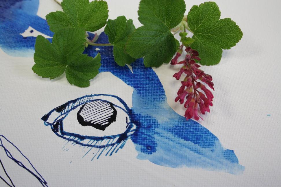 Das Auge (c) Zeichnung von Susanne Haun