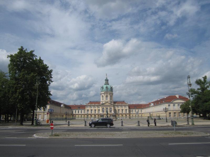 Das Schloss Charlottenburg in Berlin (c) Foto von Susanne Haun