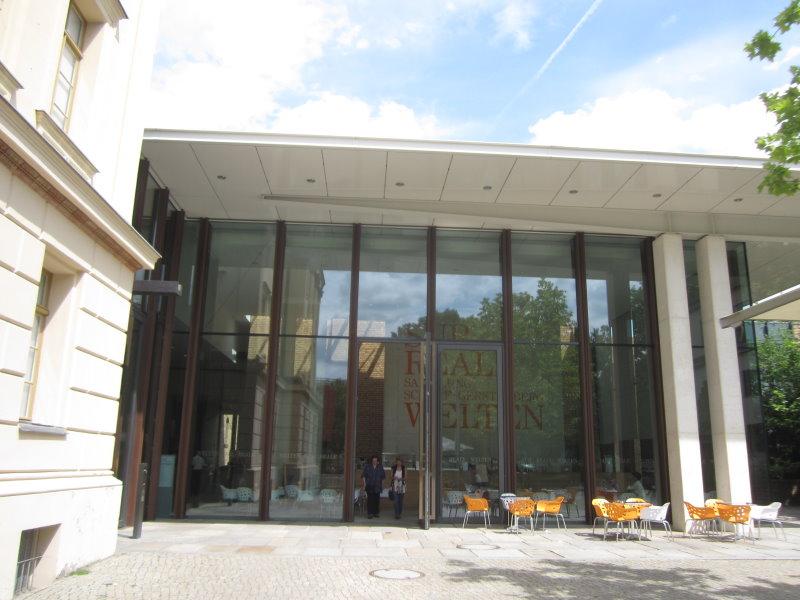 Eingang der Sammlung Gerstenberg (c) Foto von Susanne Haun