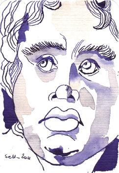 Engelskopf (c) Zeichnung von Susanne Haun