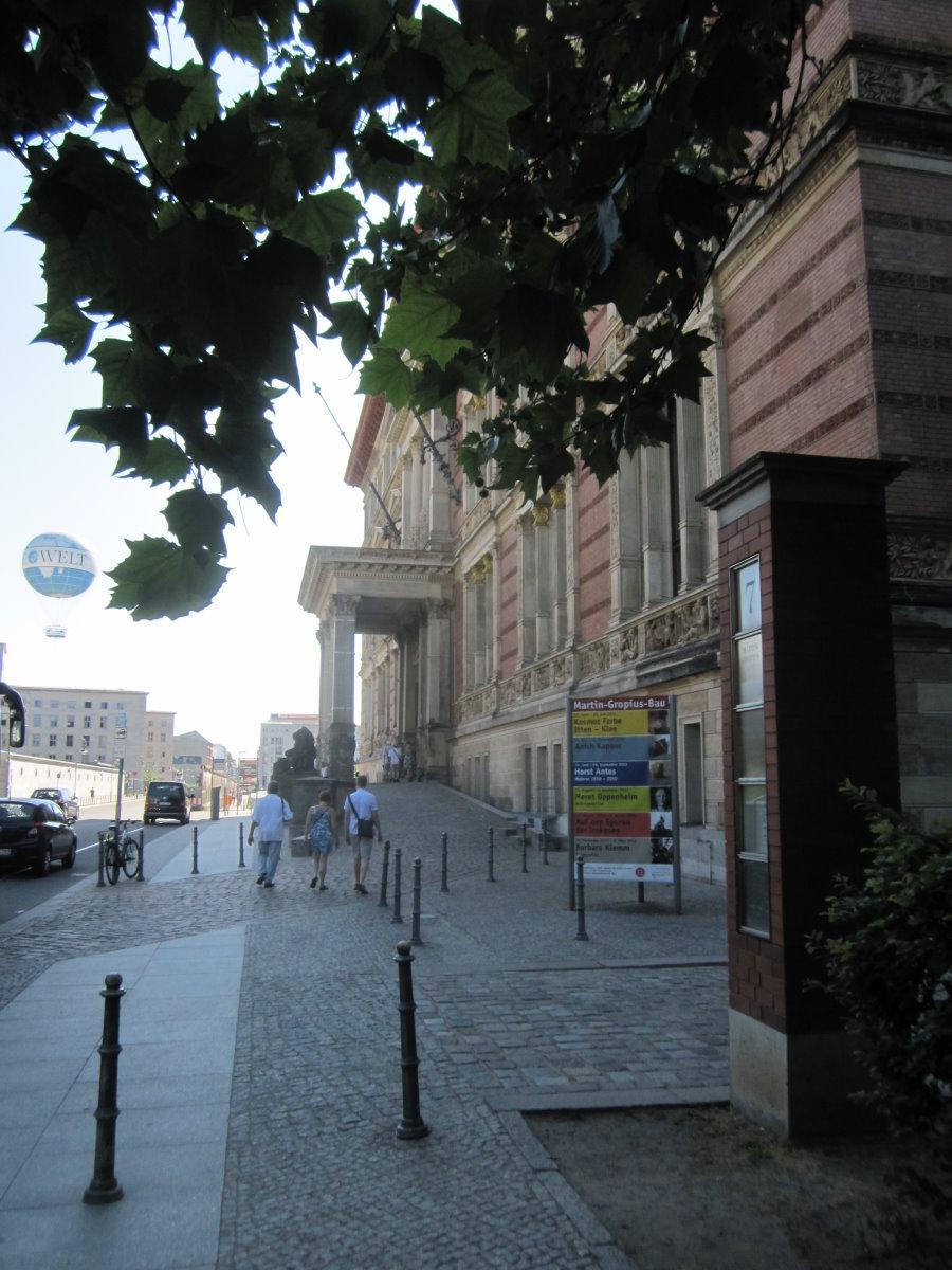 Der Martin-Gropius Bau Berlin (c) Foto von Susanne Haun