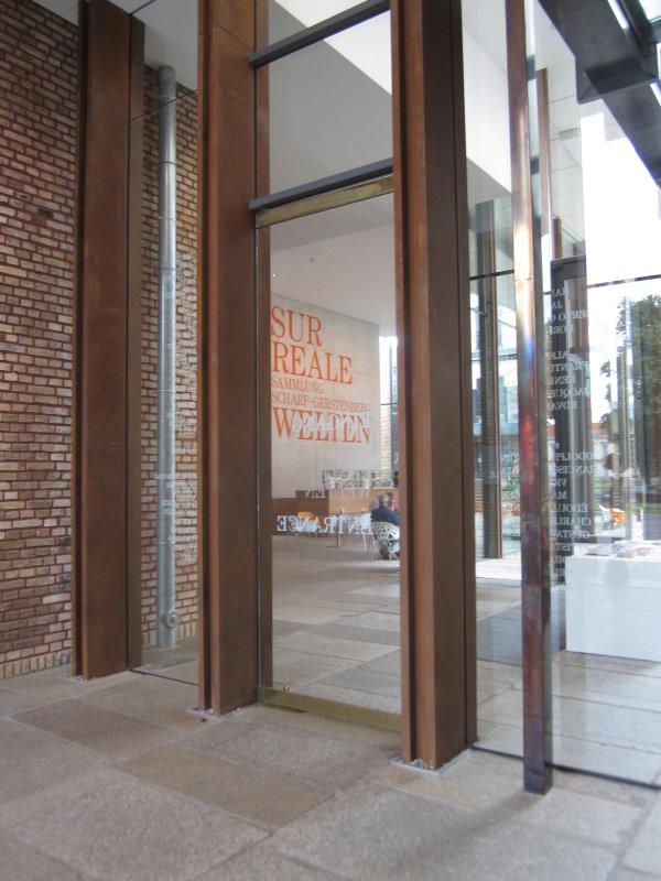 Auch von Innen ist der Eingangsbereich grandios im Stülerbau (c) Foto von Susanne Haun