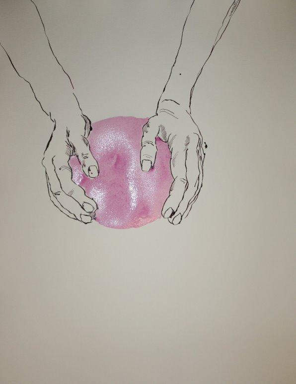Erschaffung der Welt (c) Zeichnung von Susanne Haun