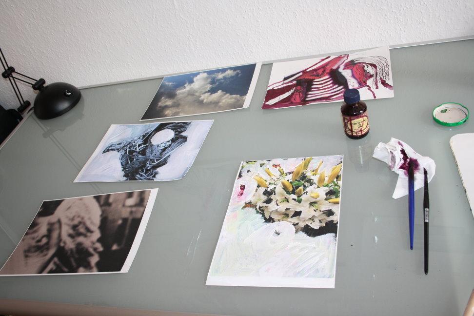 Es fällt mir nicht leicht, die Fotos zu überzeichnen (c) Foto von Susanne Haun