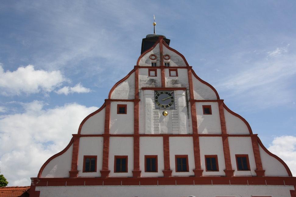 Dach vom Rathaus Grimma (c) Foto von Susanne Haun
