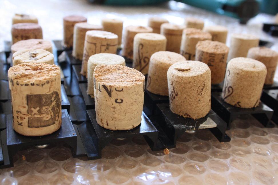 Korkensammlung (c) Foto von Susanne Haun