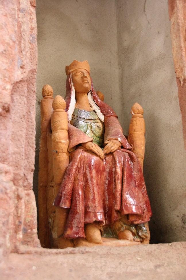 Kunst im Innenraum der Klosterkirche Grimma (c) Foto von Susanne Haun