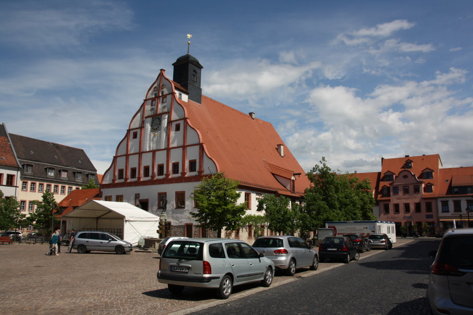 Markplatz Grimma (c) Foto von Susanne Haun